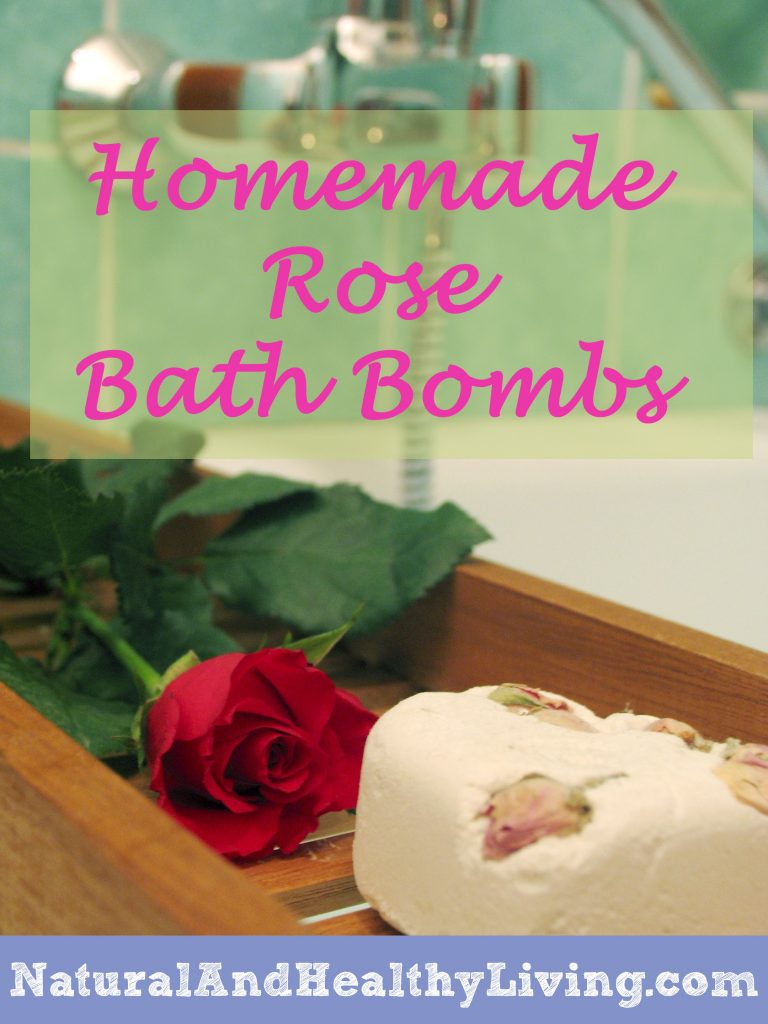 homemade rose bathbomb recipe