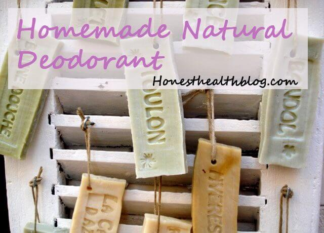 Homemade deodorant is so simply to make!
