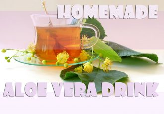 Homemade Aloe Vera drink recipe