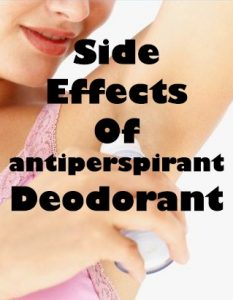 side-effects-antiperspirant-deodorant