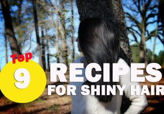 Top 9 recipes for shiny hair