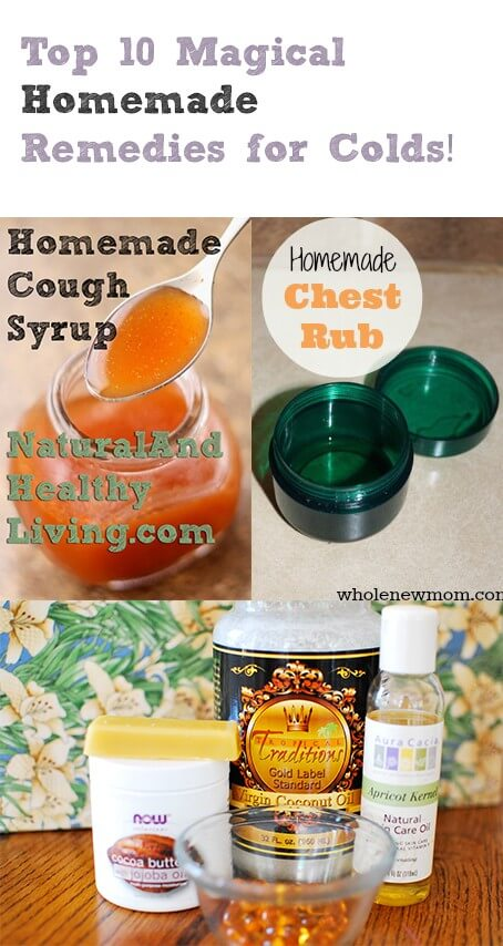 Homemade remedies for colds and flu