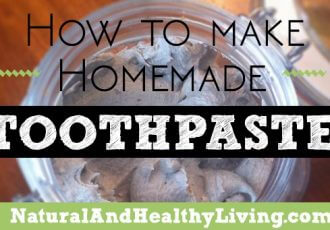 diy homemade toothpaste recipe