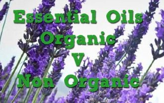 Organic vs non-organic essential oils