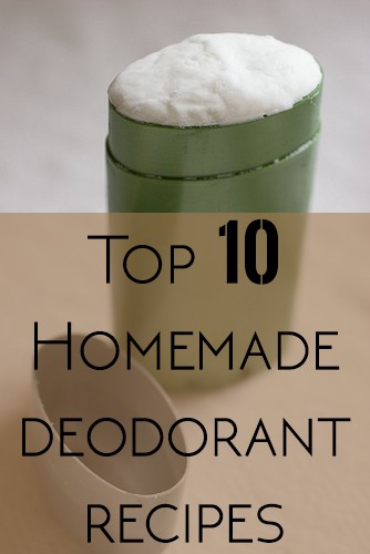 Top 10 deodorant recipe list roundup