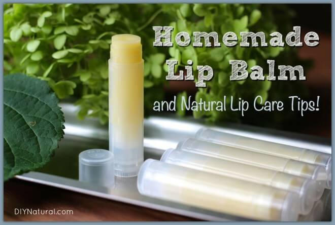 Homemade DIY LIP BALM