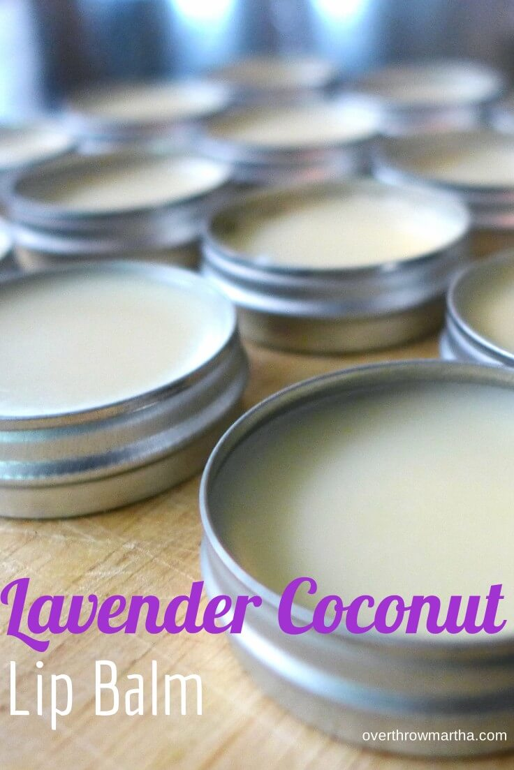 Natural Lip Balm Recipe Coconut Oil