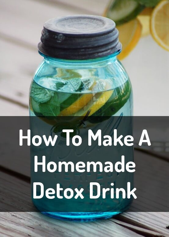 Homemade Detox Drink Image