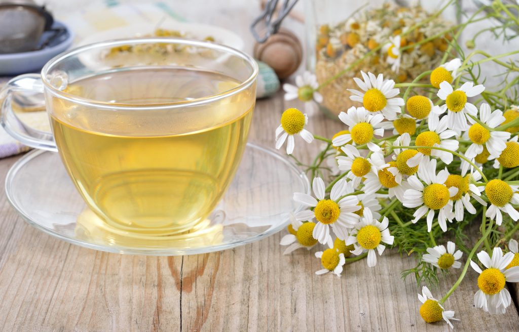 Camomile soothes eczema