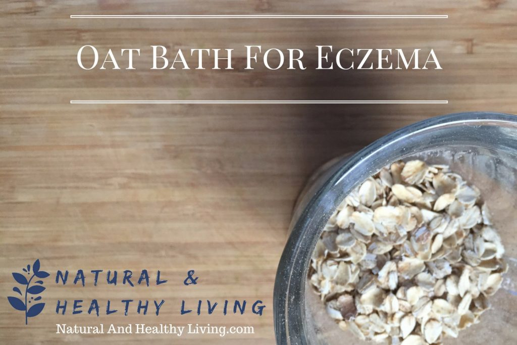 oat bath for eczema